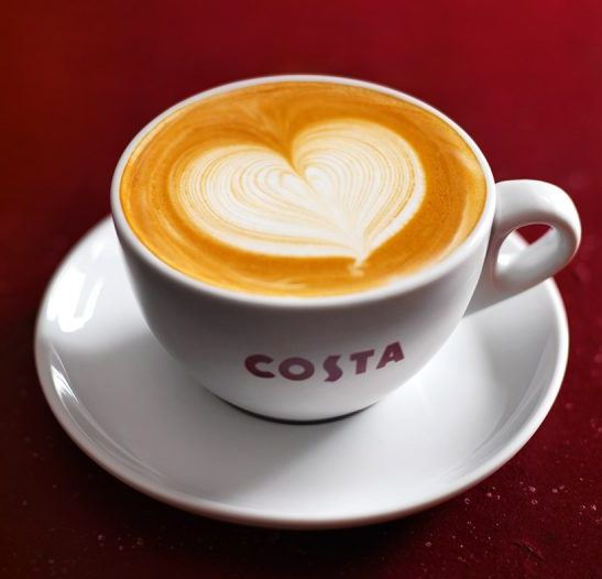 Costa Coffee Guest Experience Survey